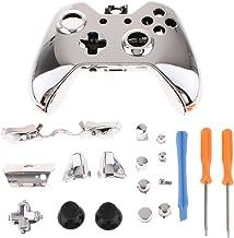 Capa de reposição gazechimp Kit de joystick com botão de polegar e ferramentas de instalação para controle Microsoft Xbox One