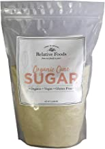 Relative Foods Organic Cane Sugar, 5-Pounds, packaged in our gluten free and allergen free facility