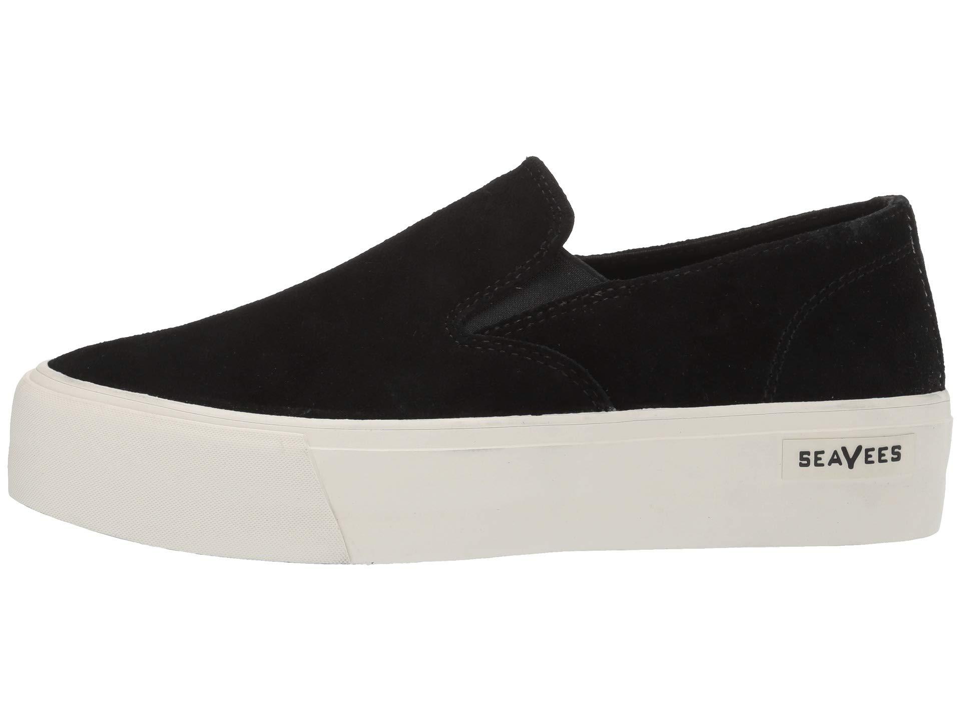 Slip Seavees Baja Platform Black on Tq8qw57