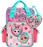 L.O.L. Surprise! Mochila Escolar Niña, Bolsa LOL Surprise Niñas con Muñecas LOL Unicornio y Kitty Qu...
