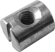 (25) Cross Dowels/Barrel Nuts - 10-24 12.7mm X 10mm Zinc-Plated CNC