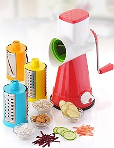 Prutha Home Appliance Grater Shredder and Slicer for Kitchen Vegetable Choppers for Kitchen