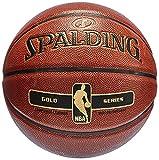 Spalding Nba Gold In/Out 76-014Z Balón de baloncesto, Naranja, 7