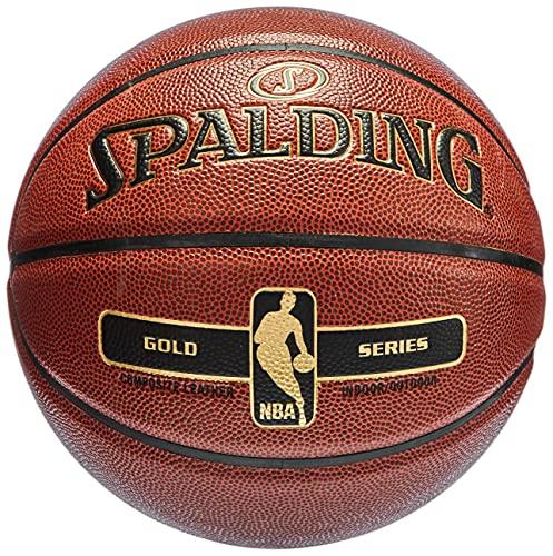 SPALDING - NBA GOLD IN/OUT SZ.7 (76-014Z) - Ballons de...