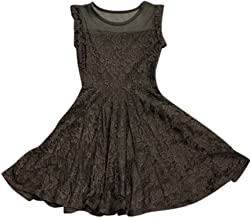 Cheryl Creations Kids Girl's Sleeveless Comfortable Lace Skater Dress Day/Night Dress Made in USA