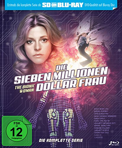 Die sieben Millionen Dollar Frau - Die komplette Serie - Mediabook  (SD on Blu-ray) [Limited Edition]