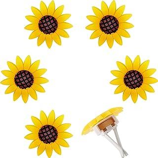 6 Pieces Car Air Freshener Sunflower car Accessories Sunflower Air Vent Clips Cute Car Air Freshener Sunflowers Gift Decor...