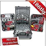 Swiss Kraft–Set de 186herramientas con...