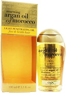 Organix Moroccan Argan Oil Light Penetrating Oil For Fine/