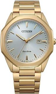 ساعة سيتيزن ايكو- درايف كورسو ذهبية للرجال BM7492-57A