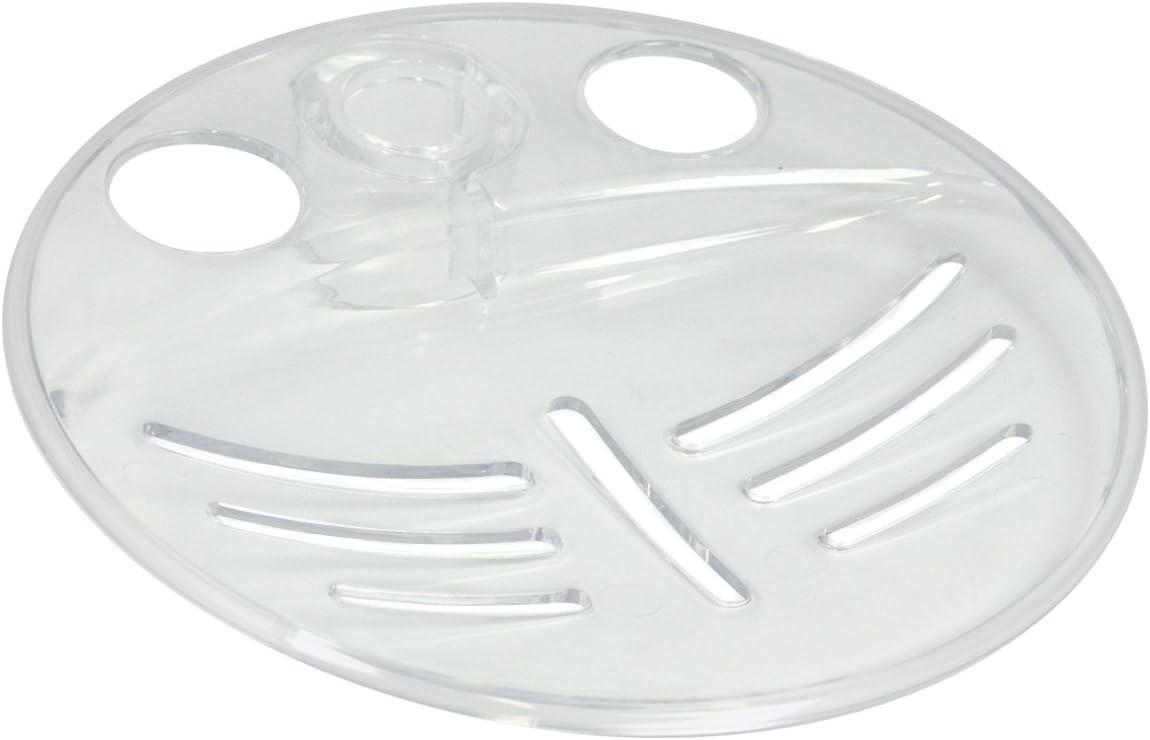 Triton Showers RERRSD19CLR Riser Rail mm Max 75% OFF Soap Dish Clear Same day shipping 19