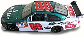 NASCAR 2009 Dale Earnhardt #88 AMP Energy/Mountain Dew Chevy Impala SS, White/Green C8671 - 1/24 Scale Diecast Model Toy Car