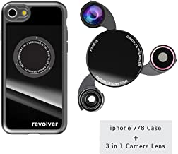 iPhone 7/8 Camera Lens Kit with Case Fisheye Lens 0.45X Super Wide Angle Lens CPL Lens
