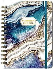 2021-2022 Dagboek - A5 Week to View Diary van juli 2021 tot juni 2022, 2021-2022 Hardcover Dagboek met Binnenzak, Twin-Wire Binding, 21,5 x 15,5 cm
