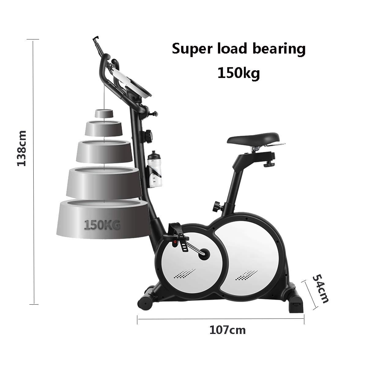 HLEZ Bicicleta Estática de Spinning Profesional con Sensor de ...