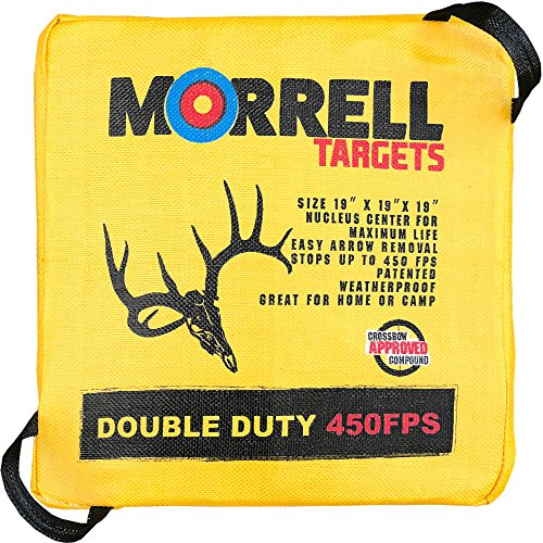 Morrell Double Duty 450FPS Field Point Bag Archery Target
