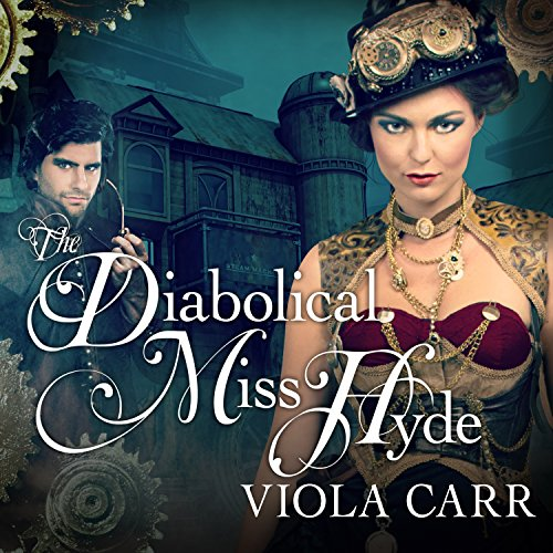 The Diabolical Miss Hyde audiobook cover art