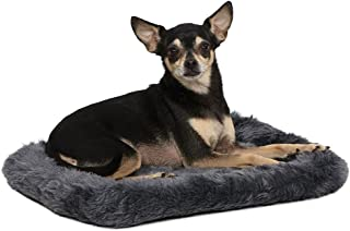 """18L-Inch Gray Dog Bed or Cat Bed w/Comfortable Bolster 