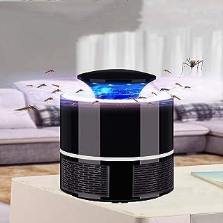 Jieer Lámpara Antimosquitos, Lámpara Eléctrica para Mosquitos, Lámpara de Control de Mosquitos USB Repelente de Control de Moscas para el Hogar LED