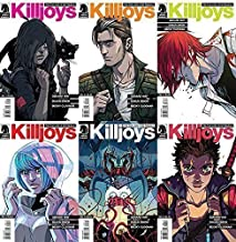 True Lives of the Fabulous Killjoys Complete Set Issues 1-6
