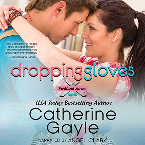 Dropping Gloves audiobook cover art