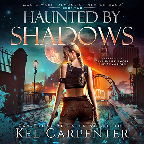 Couverture de Haunted by Shadows