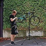 Hengda Support de réparation de vélo, Pieds d'Atelier, Réglable...