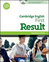 cambridge english first result teacher's book