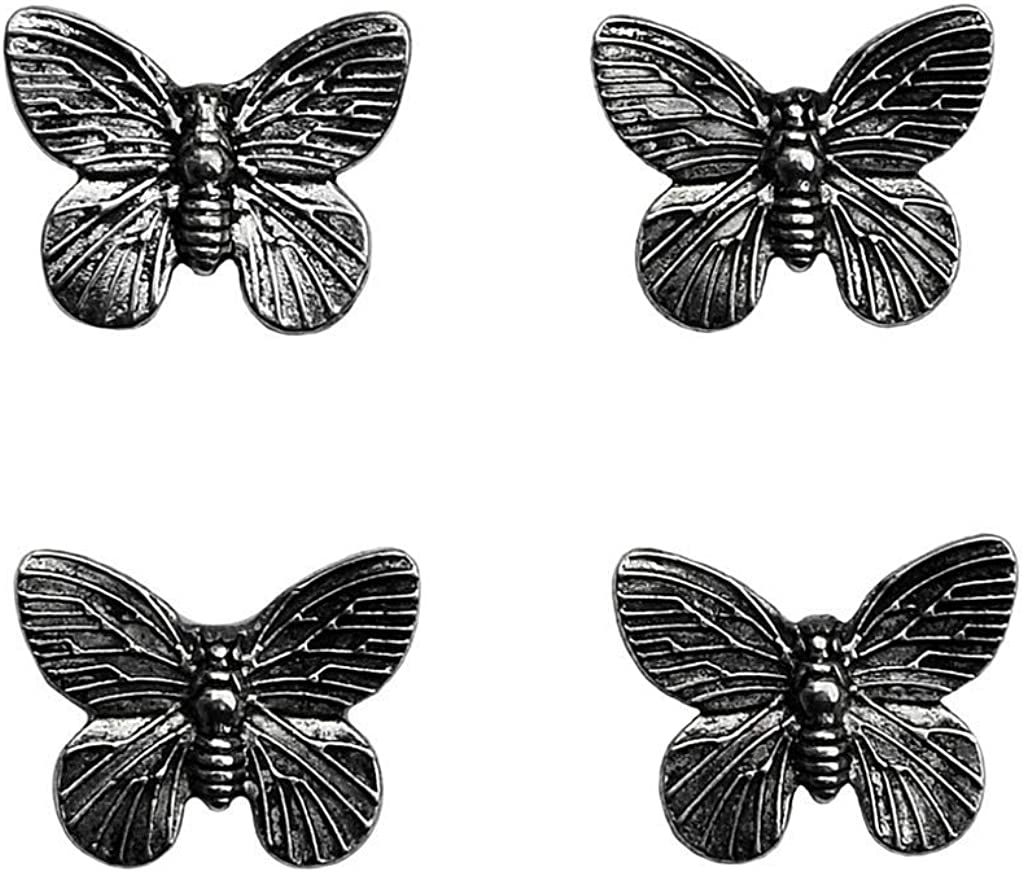 Quality Handcrafts Guaranteed Butterfly Tuxedo Studs