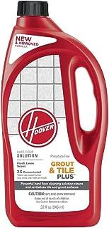 HOOVER FloorMate Grout & Tile Plus Hard Floor Cleaning Solution Formula, 32 oz, AH30435