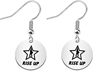 TGBJE Hamilton Broadway Musical Gift Rise Up Earring Hamilton Earring Hamilton Fan Gift Broadway Musical Gift