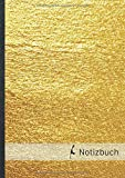 Notizbuch: liniert, Notizheft €¢ A4-Format, 100+ Seiten, Soft Cover, Ohne Rand €¢ Design €žSylt Gold€œ €¢ Original Sylter Notizbuch €¢ Lined Notebook €¢ ... Vokabelheft, Schreibheft (German Edition)