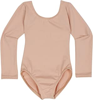 Leotard Boutique Infant Girls Leotard with Classic Long Sleeve | Infant and Baby Girl Sizes from 6-24M