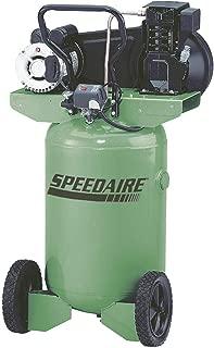 Speedaire 20 HP, 115/230VAC, 20 gal Portable Electric Barrel Air Compressor, 135 psi - 4TW29