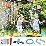 LESDOI® Rotierender Trampolin Sprinkler, verhindert Platzen und Auslaufen, mit verdicktem...