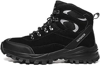 MNSSRN-MM Warm antiscivolo scarpe sportivo all'aperto, escursionismo ed escursioni pattini high-top, leggera e confortevol...