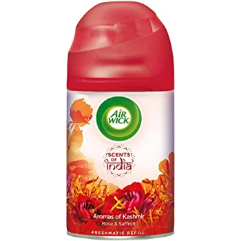 Airwick Freshmatic 'Scents of India' Air-freshner Refill, Aromas of Kashmir - 250 ml