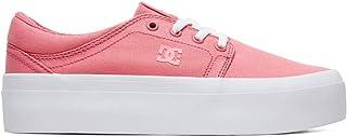 DC Shoes Womens Shoes Trase Platform Tx Flatform Shoes for Women Adjs300184