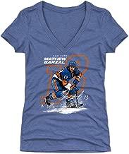 500 LEVEL Mathew Barzal Women's Shirt - New York Hockey Shirt for Women - Mathew Barzal Offset