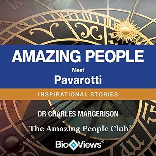 Meet Pavarotti audiobook cover art
