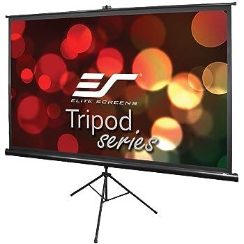 Amazon Com Elite Screens Tripod Series 92 Inch 16 9 Indoor Outdoor Projector Screen 8k 4k Ultra Hd 3d Ready 2 Year Warranty T92uwh Home Audio Theater