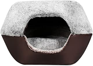 Yooyoo Soft Washable Pet Dog Cat Bed Ger House Nest with Removable Cushion
