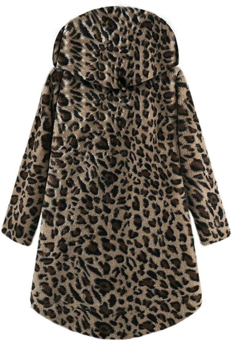 Plüsch Jacke Damen Mantel Damen Wärme Herbst Mode Lässig Lose Bequeme Langarm Damen Elegante All-Match Klassisch Fleece Warm Halten Bluse Damen Winter Brown-