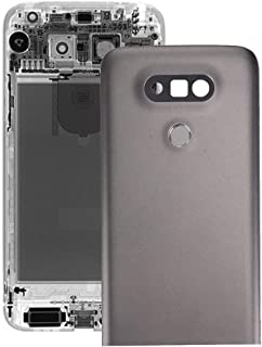 Battery case Jrc Metal Back Cover with Back Camera Lens & Fingerprint Button for LG G5(Grey) Mobile phone accessories (Col...
