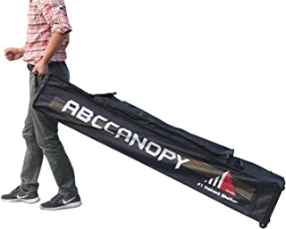 ABCCANOPY 10x10 Universal Pop up Canopy Tent Roller Bag Only Deluxe Heavy Duty (Black)