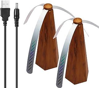 Vliegventilator Voor Tafels, Draagbare Zachte Kunststof 3-bladige Tafelvliegventilator Houd Vliegen Weg Van Uw Eten Geniet...