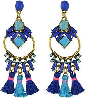 Mode féminine Résine Acrylique Chat Boucles d/'oreille Boho Dangle Drop Stud Earring