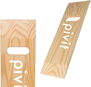 Pivit Wooden Patient Transfer Aid Sliding Board with One Cut Out Handle | 24