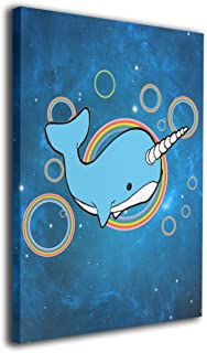 narwhal painting on canvas