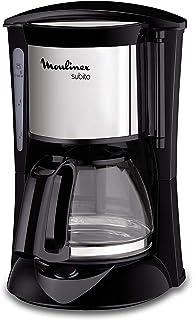 MOULINEX Cafetières filtre SUBITO inox 6 Tasses Machine à café cafetière électriqueCafetière Capacité 0,6L Antigoutte...